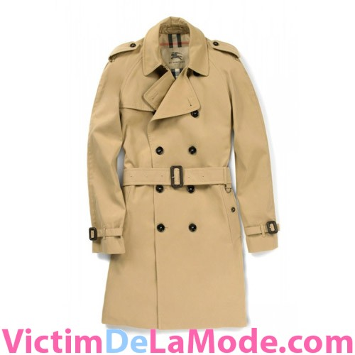 trench burberry homme