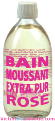 bain moussant a la rose