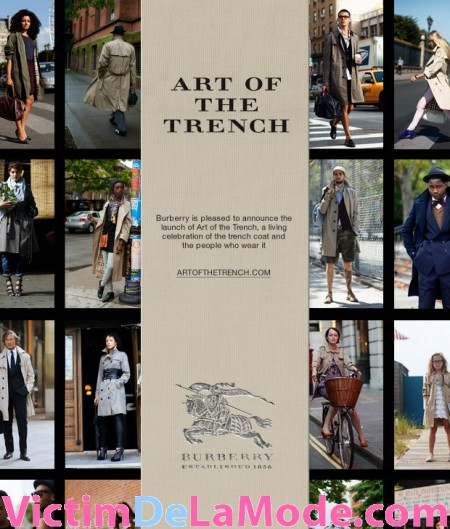 Art Of Trench burberry