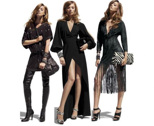 Jimmy choo pour H&M la collection
