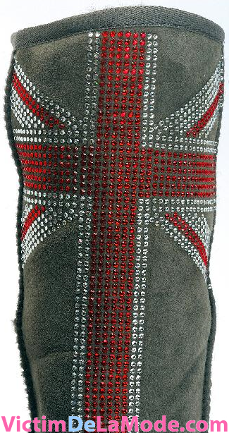 ugg swarovski cristalized england rock