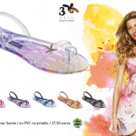 Gisèle Bündchen présente la collection de tongs colorful sea pour Ipamena