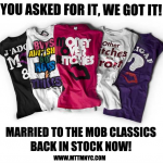 MARRIED TO THE MOB décline ses tee-shirts pour l'été !