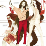 Illustrations ELLE SINGAPORE MARS 2011