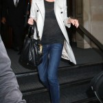 Charlize Theron en Burberry