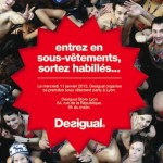 Desigual sous-vêtements party à Lyon