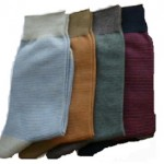 chaussettes tabio rayures homme