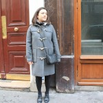 Style in the city en mode duffle coat