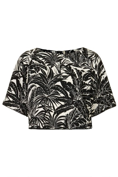 topshop-black-white-tropical-tee-xln